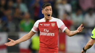 Mesut Ozil Arsenal Chelsea Europa League final 2019