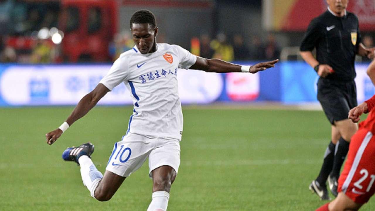 Bubacarr Trawally Guizhou Hengfeng Chinese Super League