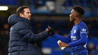 Frank Lampard Callum Hudson-Odoi Chelsea