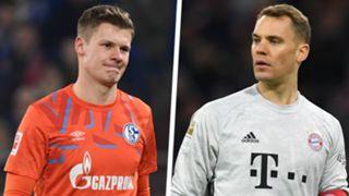 Alexander Nubel Manuel Neuer Split