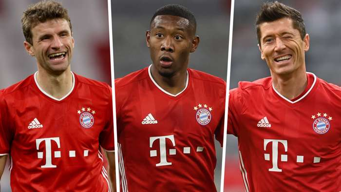 Thomas Muller David Alaba Robert Lewandowski