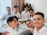 Nc247info tổng hợp: Xuân Trường, Tuấn Anh cùng dàn hot boy bê tráp cho đám cưới Công Phượng