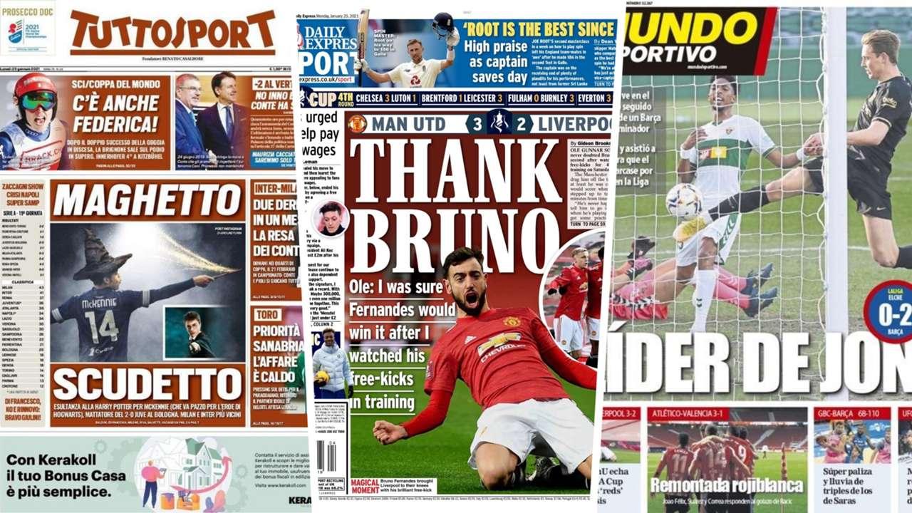 25 Jan newspapers