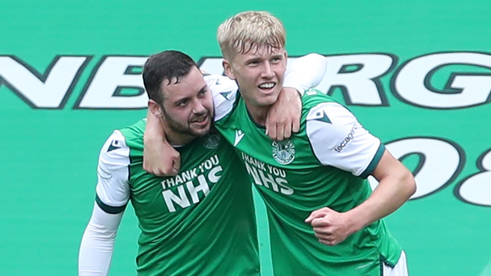 Man City, Leeds & Celtic tracking Hibernian's teenage left-back Josh Doig