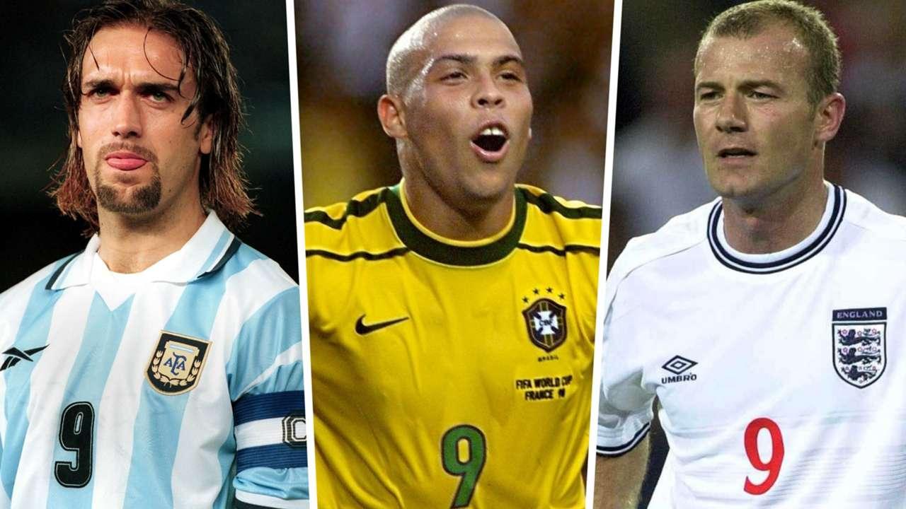 Gabriel Batistuta Ronaldo Alan Shearer