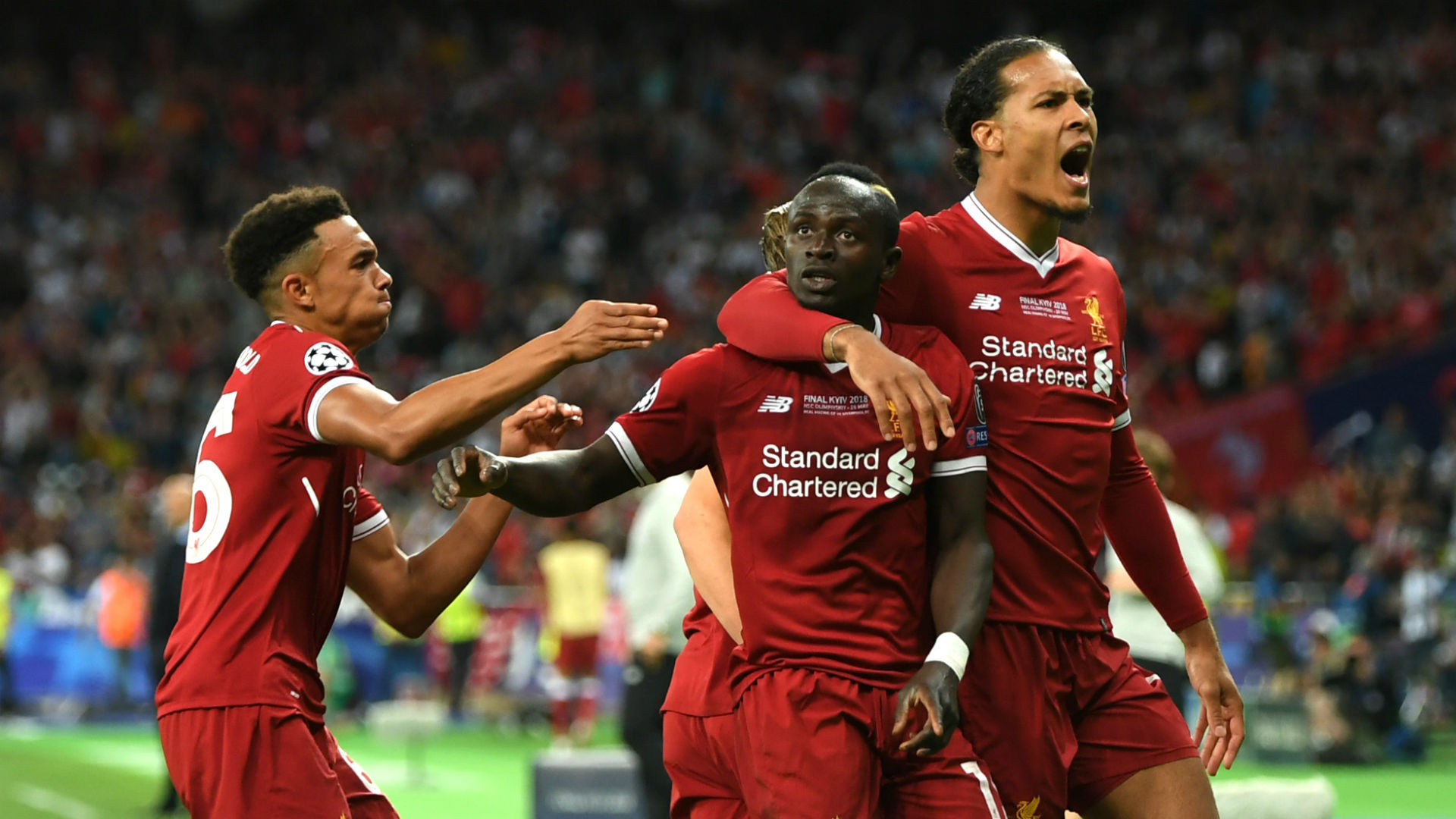 Sadio Mane Liverpool Real Madrid Champions League final 260518