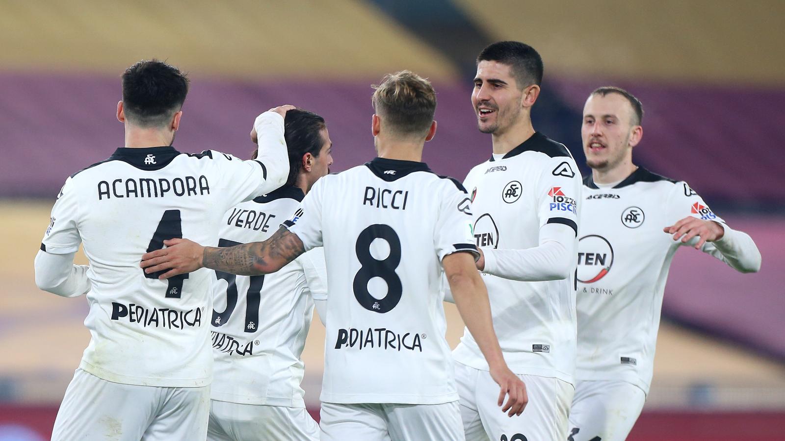 El resumen del Roma vs. Spezia de la Coppa Italia 2020-2021: vídeo, goles y  estadísticas | Goal.com