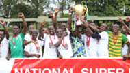 Vihiga United players celebrates win