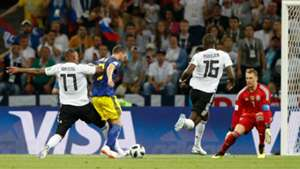 Jerome Boateng Marcus Berg Germany Sweden World Cup 2018