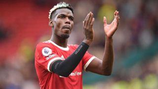 Paul Pogba Man Utd 2021-22
