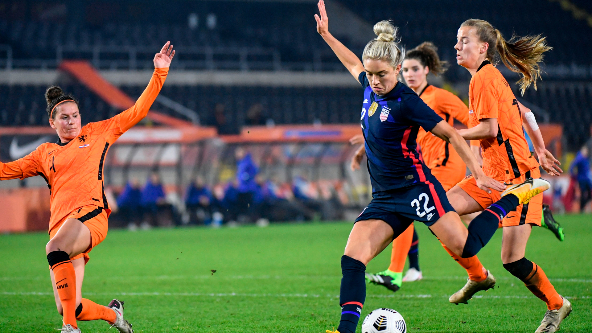Netherlands vs. United States - Football Match Report