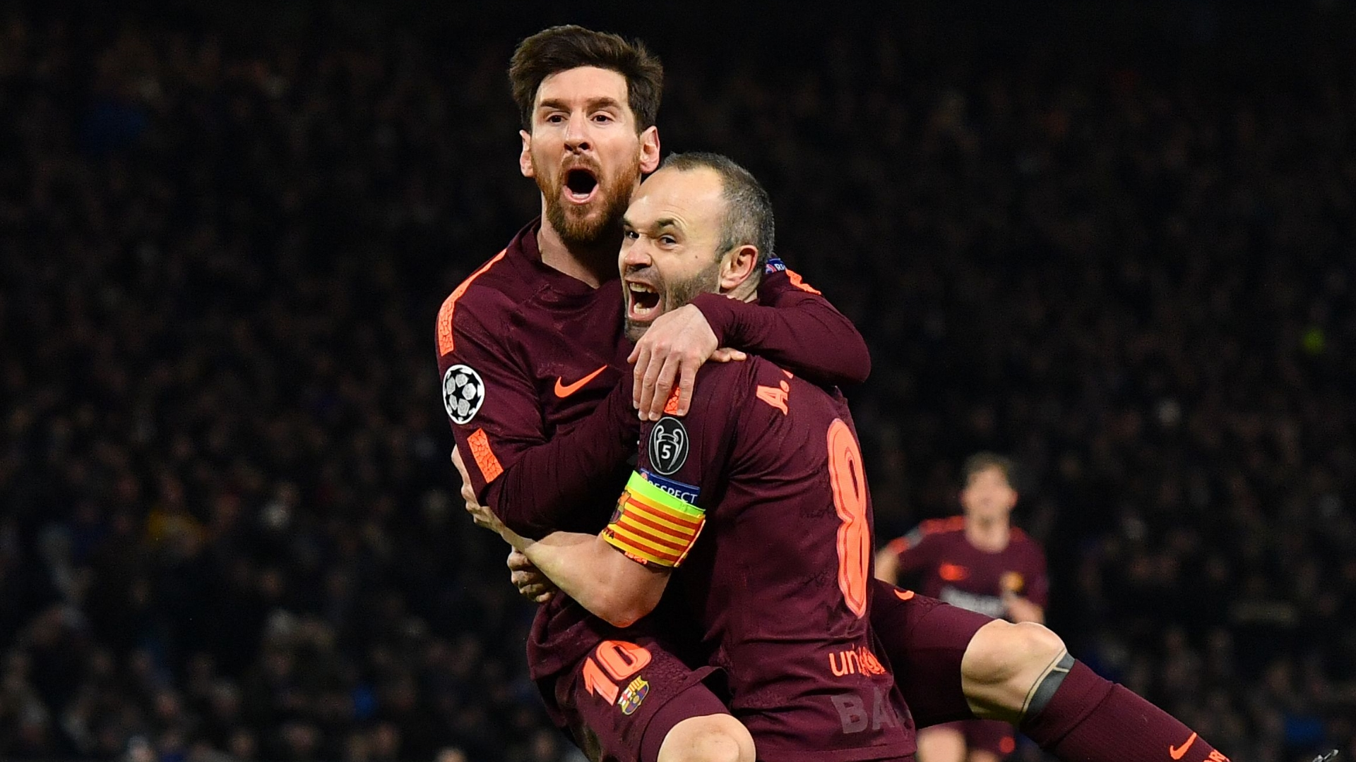 Barcelona News Lionel Messi Posts Emotional Farewell To Phenomenon Andres Iniesta Goal Com