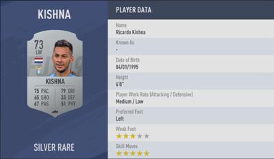 Kishna FIFA 19