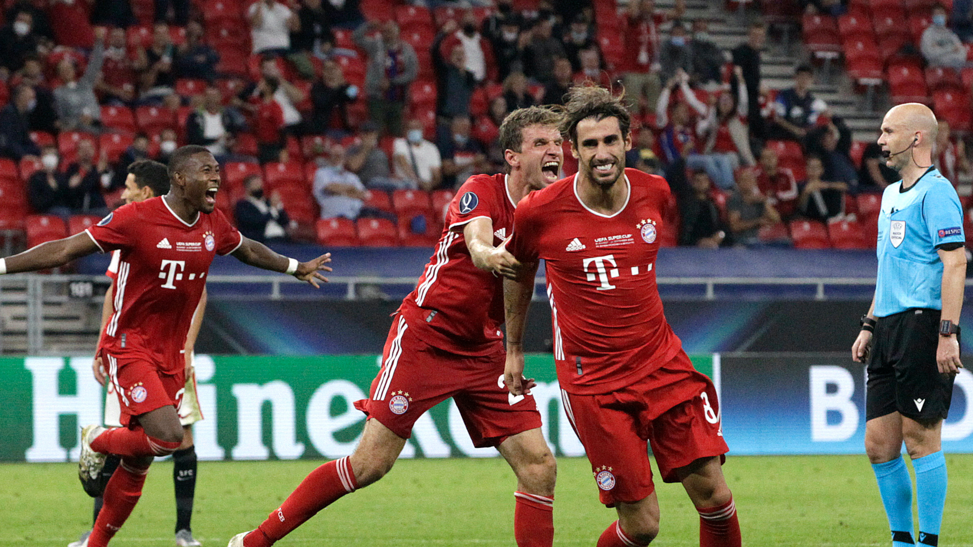 Supercoupe d'Europe - Bayern Munich - FC Séville (2-1 a.p.) : Le cadeau d'adieu de Javi Martinez