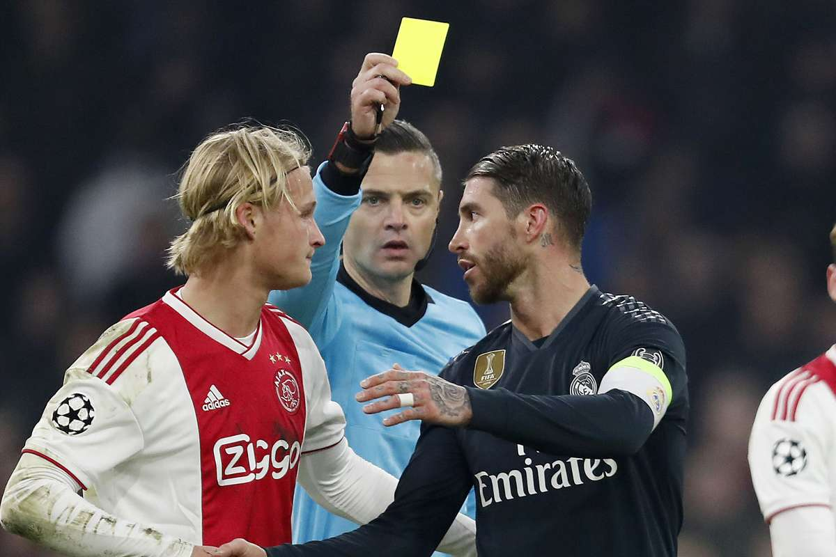 Ramos deliberately got himself booked against Ajax