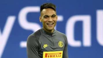 Lautaro Martinez, Inter training