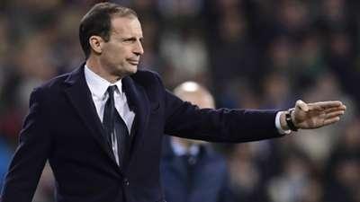 Massimiliano Allegri Real Madrid Juventus Champions League