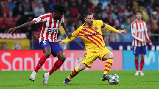 Thomas Partey's Atletico Madrid denied a point by brilliant Messi strike