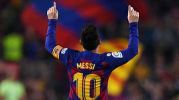 Messi Barcelona Celebrate 2019