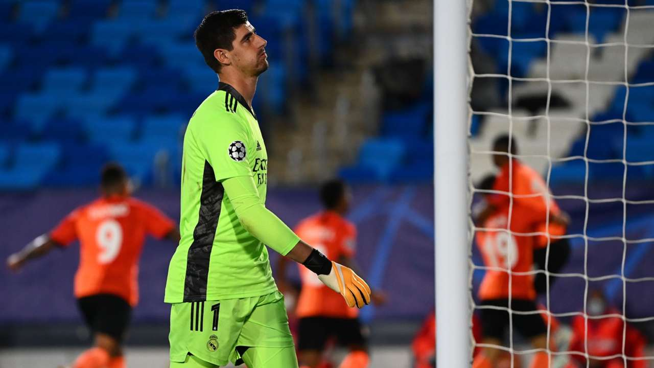 Courtois Real Madrid Shakhtar 2020
