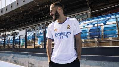 Karim Benzema Real Madrid kit 2021-22
