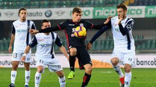Nicolò Barella Chievo Cagliari Coppa Italia