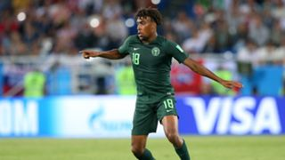 Alex Iwobi Nigeria Croatia World Cup 2018