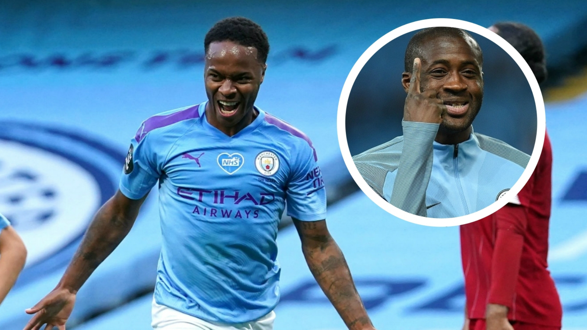 Sterling surpasses Yaya Toure's Manchester City goal record with Brighton opener