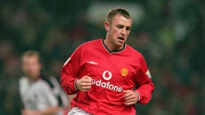 Ronnie Wallwork Manchester United