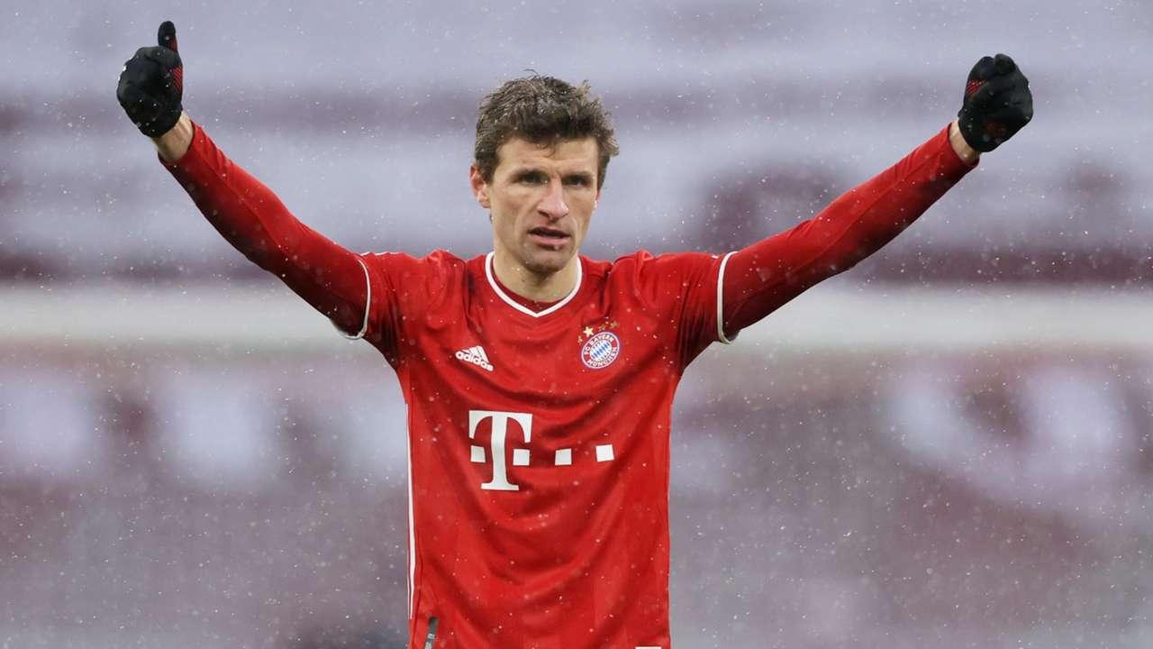 Thomas Muller Bayern Munich vs Freiburg Bundesliga 2020-21