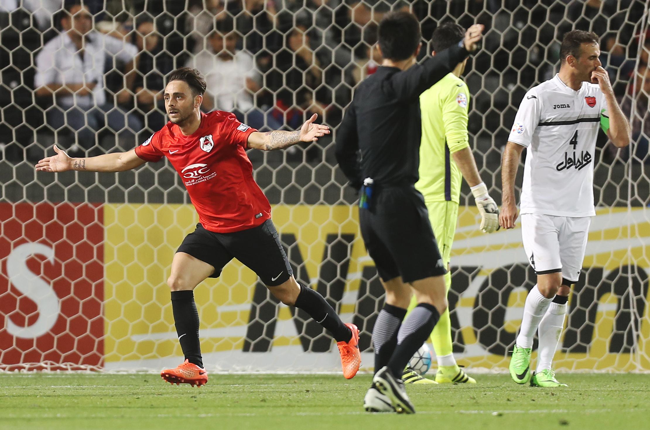 Al Rayyan vs Persepolis; Sergio Garcia