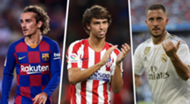 Griezmann Felix Hazard 2019 most expensive transfers