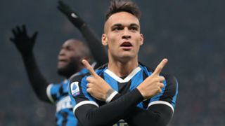 Inter atalanta 2020 Lautaro Martinez