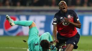 Nigeria star Osimhen to miss Lille's trip to PSG