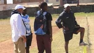 Also at the venue was Mathare United coach Francis Kimanzi.