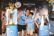 Man city trophy tour Hong Kong