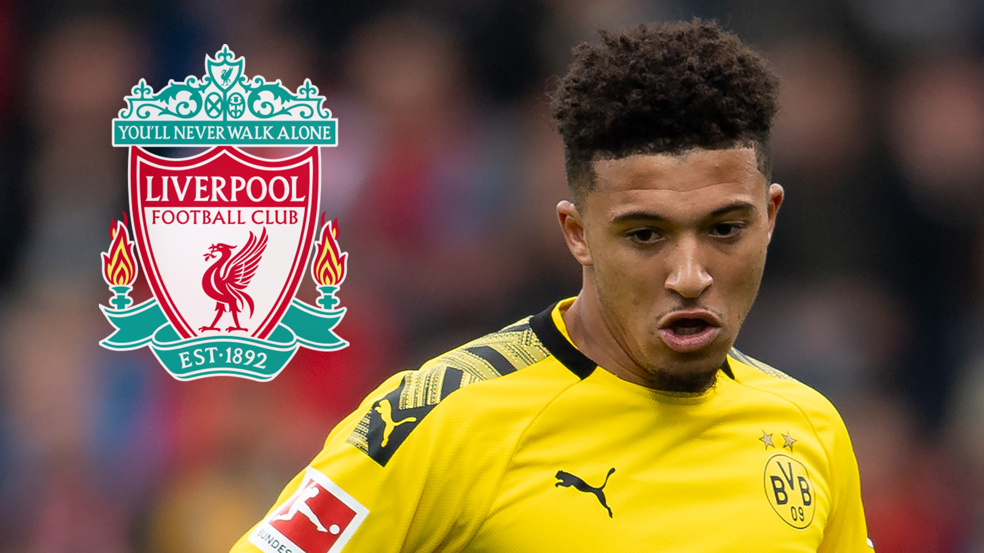 Liverpool to challenge Manchester United for Jadon Sancho