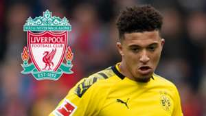 Jadon Sancho Liverpool
