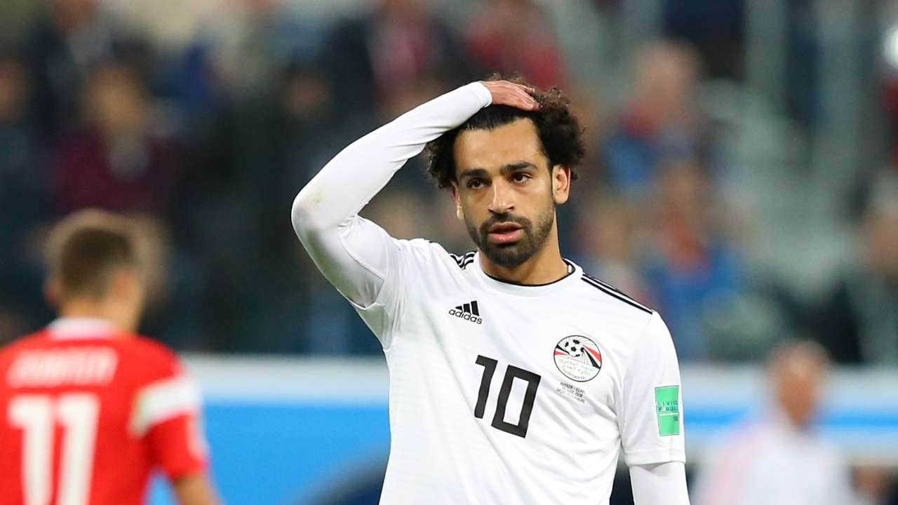 Mohamed Salah Egypt Russia World Cup 19062018