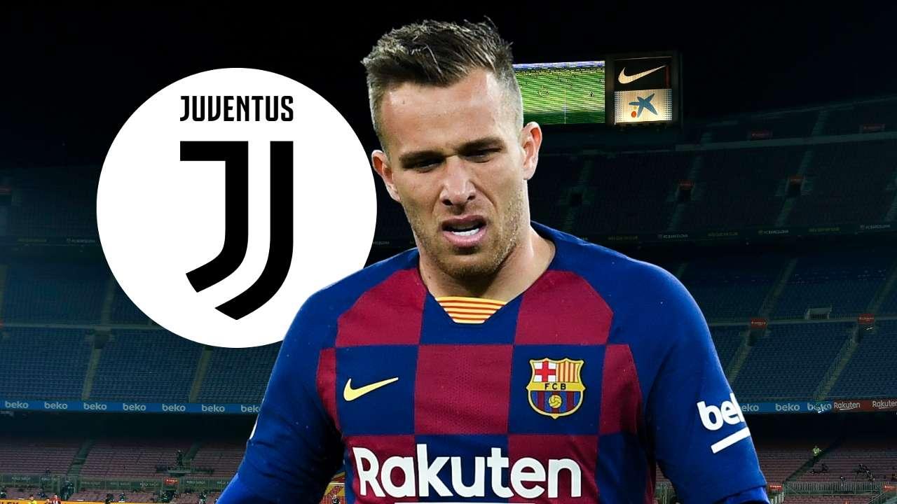 Arthur Barcelona Juventus