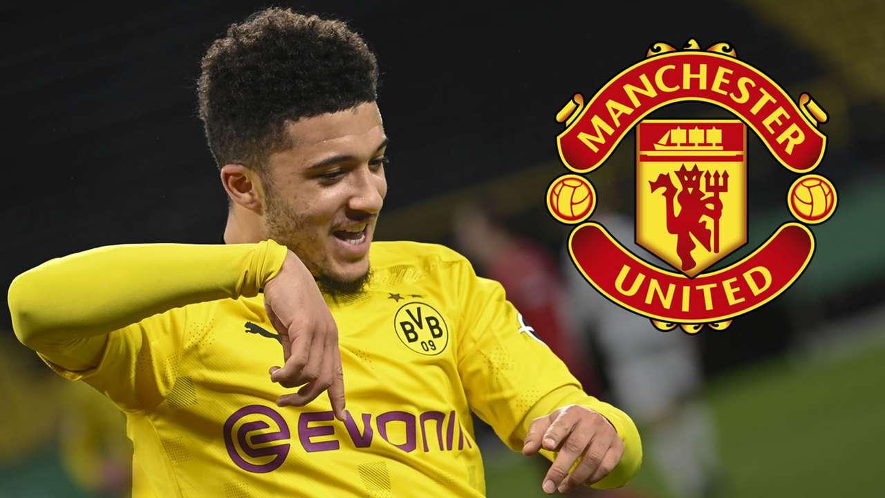 Jadon Sancho Dortmund Man Utd