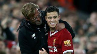 Jurgen Klopp Philippe Coutinho Liverpool