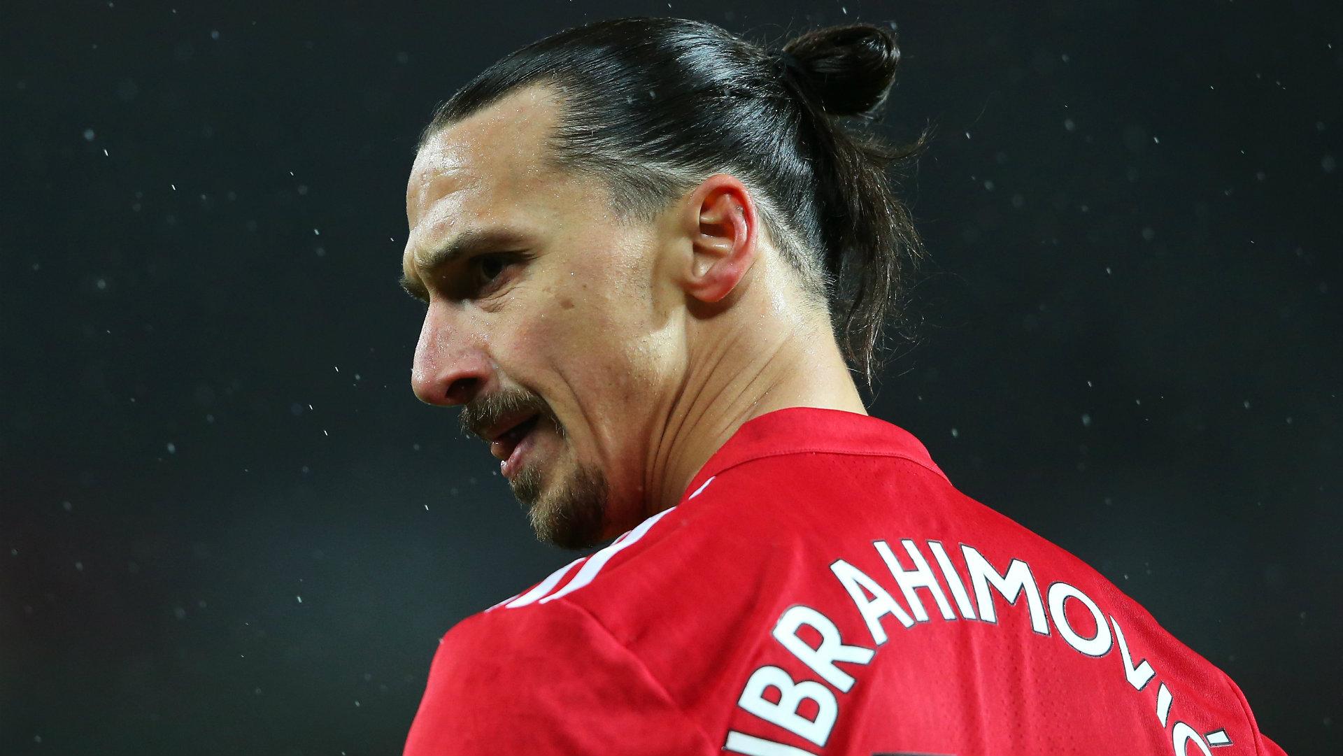 Zlatan Ibrahimovic, Man Utd v Brighton, 17/18