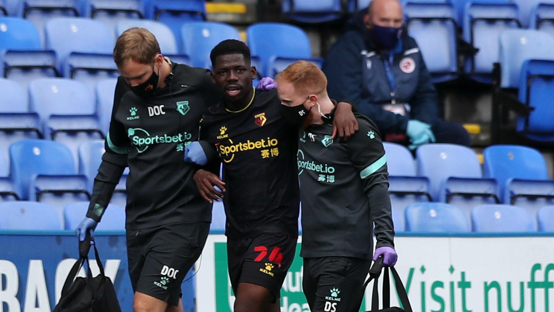 Dele-Bashiru: Watford midfielder set for six-month injury layoff