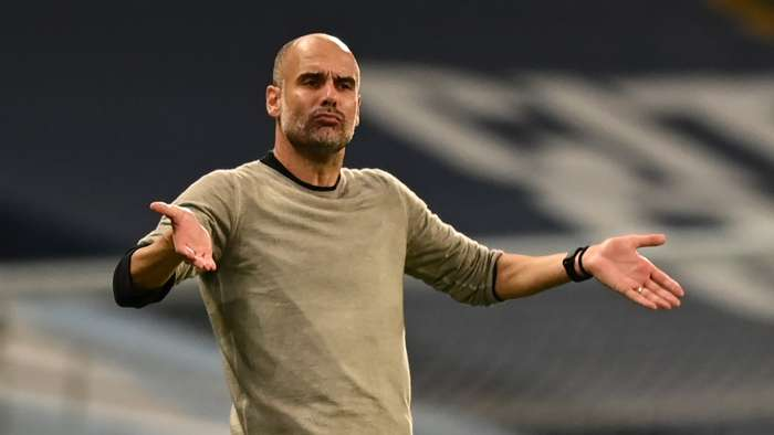 Pep Guardiola Man City 07082020