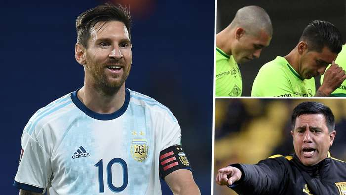 Lionel Messi Argentina Bolivia National Team