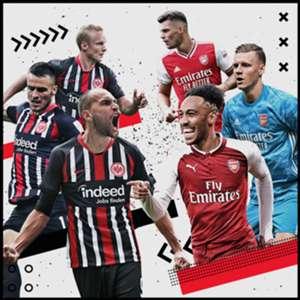 Eintracht Frankfurt trifft auf Arsenal