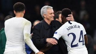 Serge Aurier and Jose Mourinho - Tottenham 2019-20