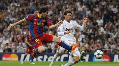 Lionel Messi Barcelona Real Madrid 2011