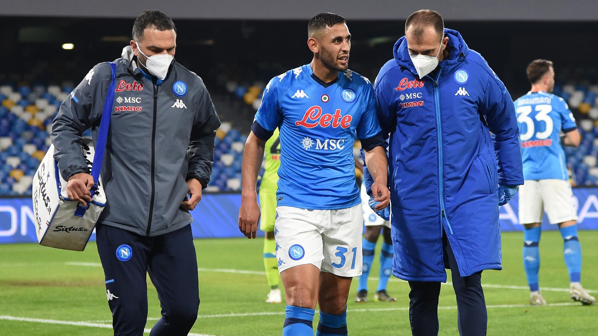 Napoli in ansia: nuovo infortunio per Ghoulam | Goal.com